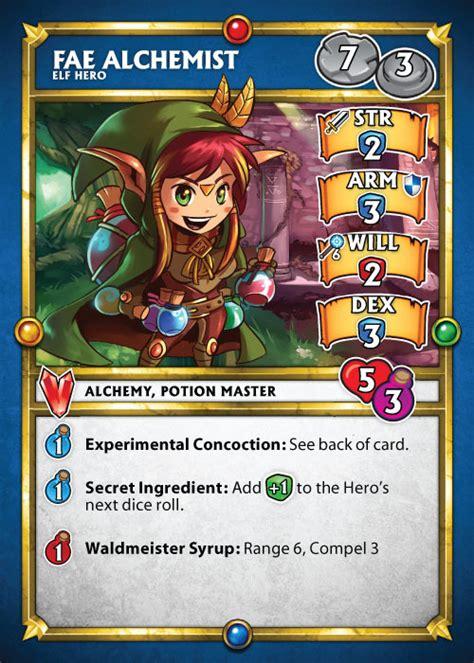 dungeon explore card template fae alchemist superdungeonexplore wiki fandom powered