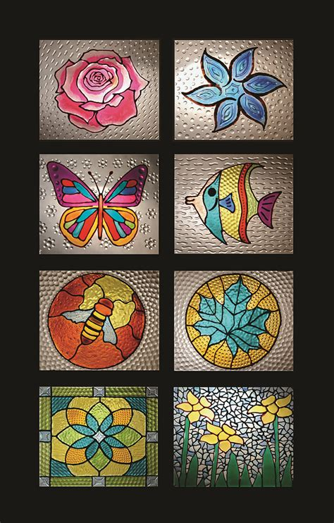 Stained Glass L Forms by Cristal Stained Glass Patterns