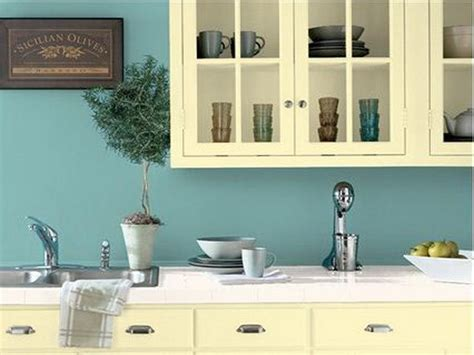 kitchen color schemes blue the favorite color combinations for kitchens your home