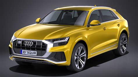 Audi Q8 S Line by Lowpoly Audi Q8 S Line 2019
