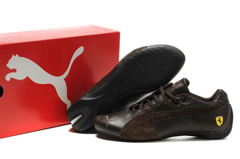 brown ferrari puma shoes online store wholesale and retail puma shoes