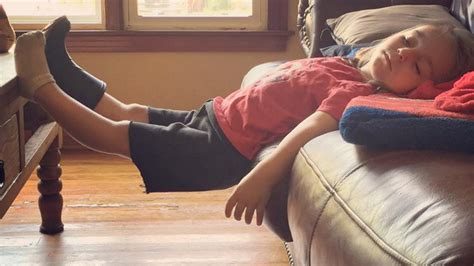 Comfortable Chair by 15 Funniest Places Where Kids Have Fallen Asleep That Can