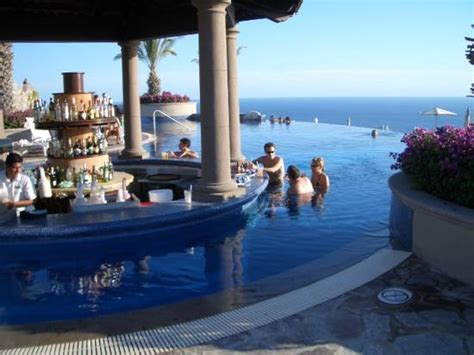 Sky Pool bar   Picture of Pueblo Bonito Sunset Beach Golf