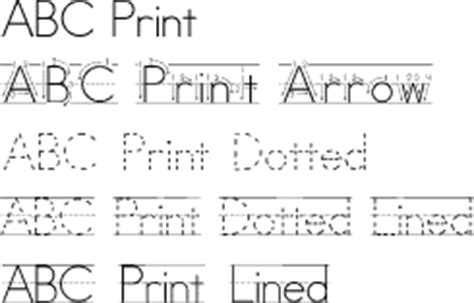 free printable traceable fonts tracing letters font quotes