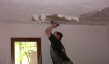 paint stucco ceiling