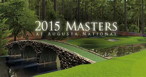 master s us masters golf the first major tournament of the year