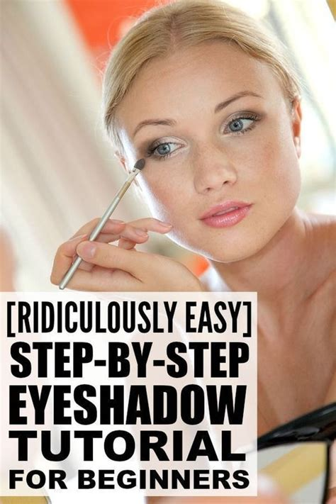 tuesday tutorial 4 makeup tips for four eyed gals ridiculously easy step by step eyeshadow tutorial for
