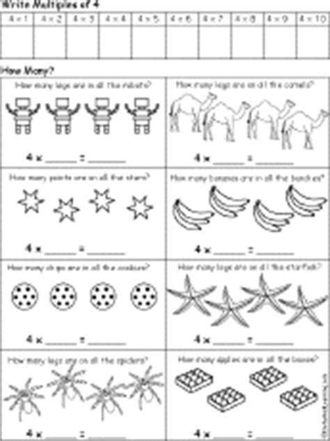 early multiplication printable worksheets printables equal groups multiplication worksheets