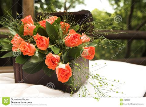 rose flower arrangement stock photo image 4725080