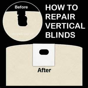 how to fix vertical blinds removeandreplace