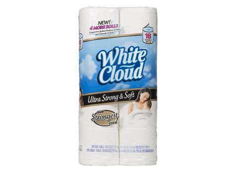 Who Makes White Cloud Toilet Paper - white cloud ultra strong soft walmart toilet paper