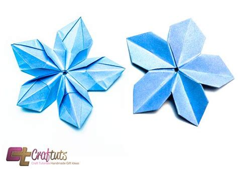 Diy Origami Flowers - origami paper flower diy result crafts for all