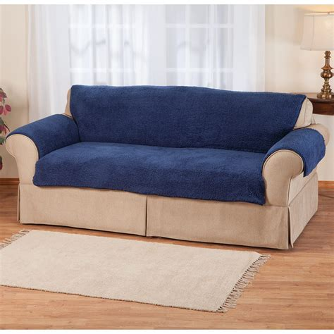 Oakridge Sofas Reviews by Sherpa Sofa Protector By Oakridge Comforts Cover