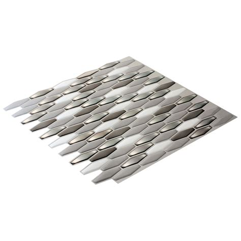 peel and stick diamond wall tile peel and stick backsplash sticker set of 6