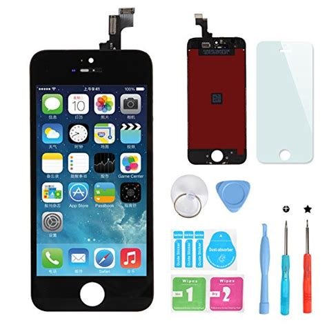 Lcd Iphone 5 Fullset Touchscreen Ori 100 iphone 5s black lcd touch screen digitizer frame assembly