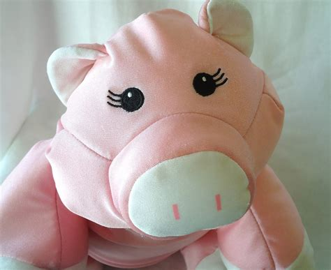 moshi pig brentwood microbead pillow stuffed and 50
