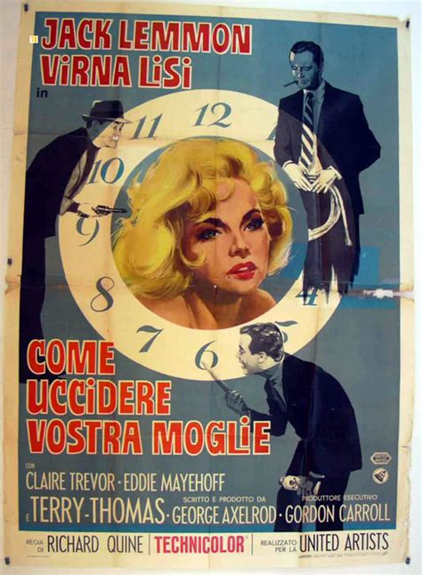 how to your to come quot come uccidere vostra moglie quot poster quot how to murder your quot poster