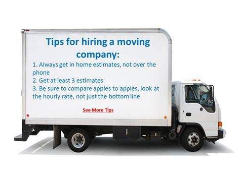 hire a mover choosing the right moving company for your move