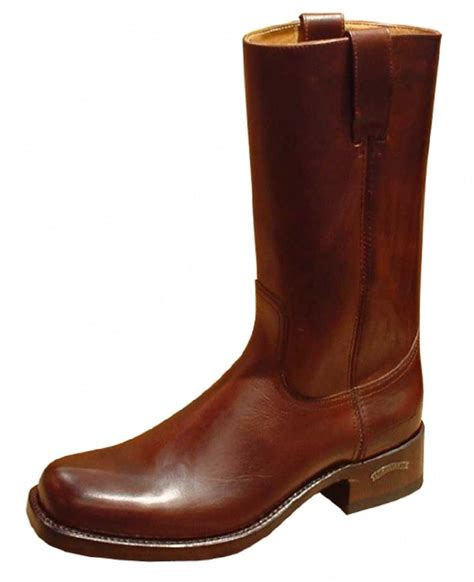 Handmade Leather Cowboy Boots - sendra 3162 cowboy boots brown leather western biker