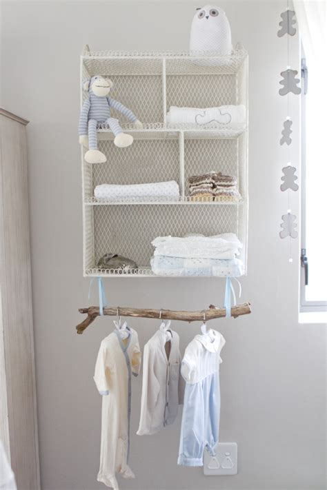 Nursery Wardrobe With Shelves by Nurseries Without Closets Cubby Shelves And Project Nursery