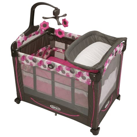 Pack N Play As A Crib by Graco Element Pink Travel Bassinet Crib Playard Pack