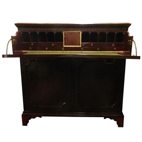 Butler Desk by Circa 1825 Mahogany Butlers Desk At 1stdibs