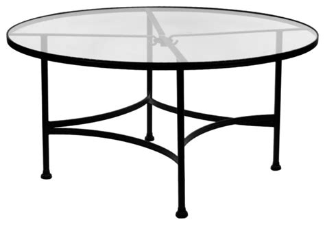 glass top outdoor dining table classico 48 quot rd glass top dining table eclectic