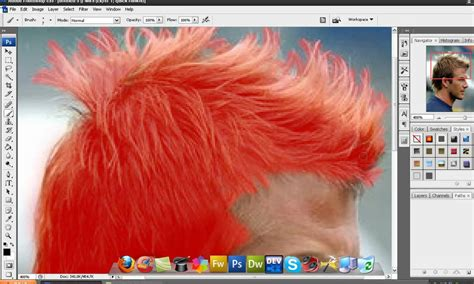 how to change hair color photoshop tutorial how to change hair color in photoshop