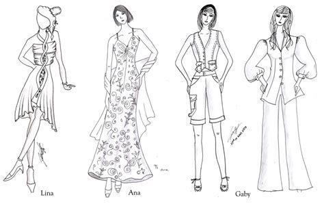 fashion illustration kursus sketches illustration kursus tata busana wiwi