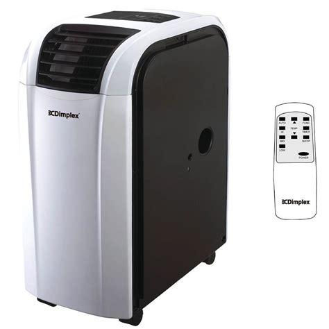 dimplex 4 4kw portable cycle air conditioner w dehumidifier dc15rcbw dimplex