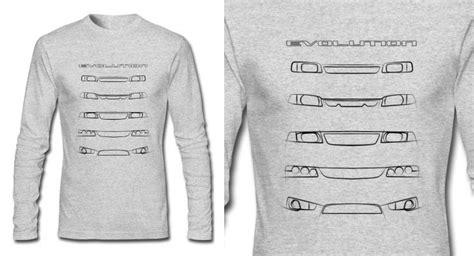 Kaos Tshirt Lancer Evolution 1 mitsubishi evo shirt t shirts design concept