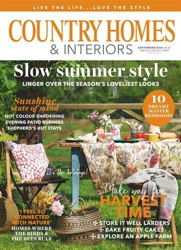 country homes interiors september 2018 roselind
