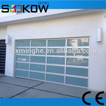 glass garage door cheap cheap aluminum glass sectional garage doors buy cheap