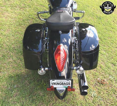 Key Pocket Ky 200l Honda Beige honda vtx 1800 r retro viking lamellar large shock cutout saddlebags motorcycle house