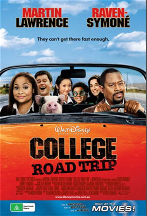 film comedy family college road trip movie ticket packs
