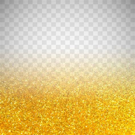 background color transparent golden glitter on transparent background vector free