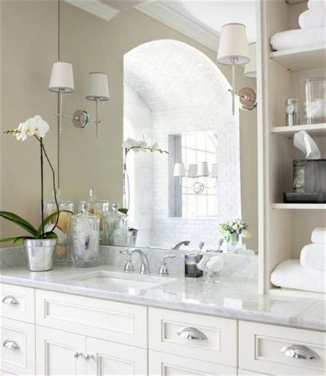 Bathroom Mirror Sconces Sconces Mounted On Mirror Shelves Details On Counter