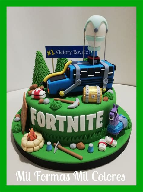 fortnite cake  mil formas mil colores food