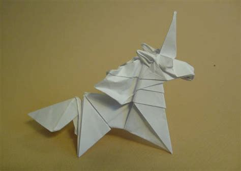 Origami Unicorn Easy - origami unicorns the equinest