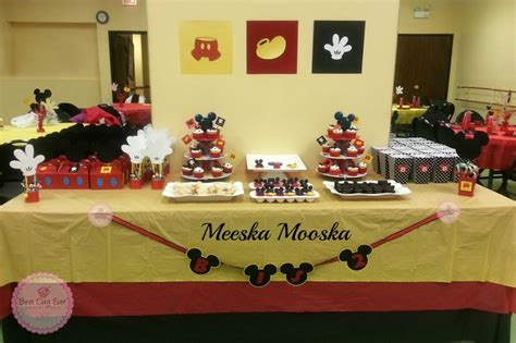 mickey mouse table mickey mouse dessert table mickey mouse birthday ideas dessert tables mice and