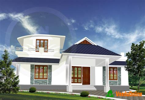 Single Floor Kerala Home Design 1300 Sq Ft