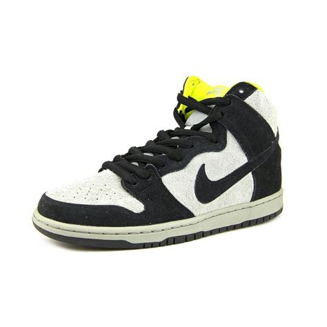 nike dunk sneakers nike nike dunk high pro sb leather black sneakers athletic