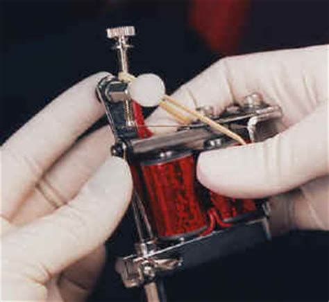 tattoo needle position how to insert needle bars into tube and machine