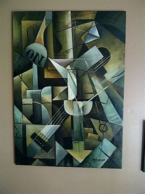 picasso guitar painting picasso painting cubism of a guitar pablo picasso club