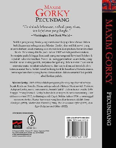 Pecundang Novel Bestseller Oleh Maxim Gorky bukukita pecundang toko buku