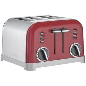 Cuisinart Toaster Reviews 2 Slice Cuisinart Waring Toaster 4 Slice Toaster Red Org