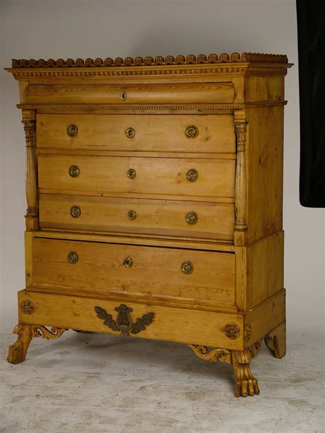 Antique Pine Chest Of Drawers For Sale by Antique Pine Chest Of Drawers Denmark 1840 For Sale