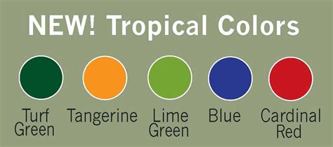tropic colour tropical colors perfect choice furniture