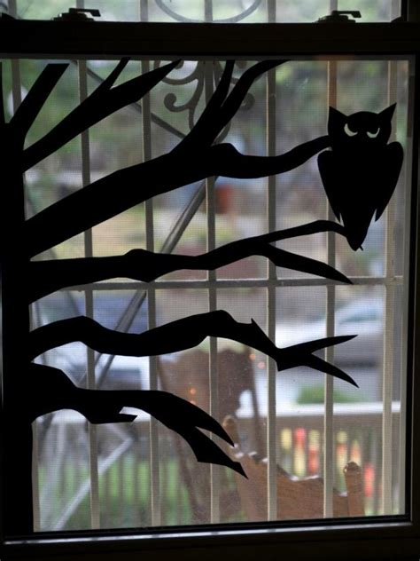 How To Make A Window Out Of Paper - how to make window silhouettes how tos diy