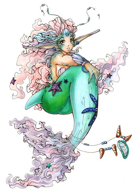 mermaid princess color by seiyachan on deviantart